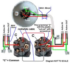 7 Best light switch wiring images | Home electrical wiring ... Wiring Up A Light Switch on