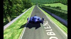 F-Zero Blue Falcon in Assetto Corsa http://bit.ly/1nU6lFr #indiegames #videogames #gamesinitaly
