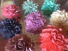 Sola Wood Flower can be dyed so many different colors.