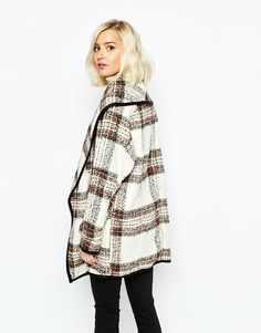 River Island | River Island Check Blanket Jacket at ASOS