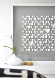 beautiful paper artwork (by Sarah + Bendrix via Oh So Beautiful Paper)