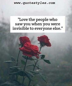 Love the people- Love Quotes
