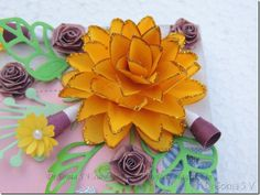 Cardstock poppy2 flowers paper pinterest flower crafts dr sonia s v easy paper flower tutorial 2 mightylinksfo Choice Image