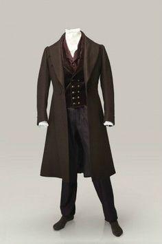 Victorian men #fashion
