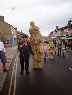 January American To Britain: Strawbear Festival