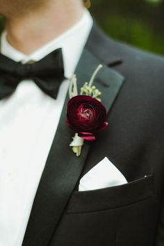 A Winter Greenhouse Wedding at Planterra Conservatory in West Bloomfield, Michigan Ranunculus Boutonniere, Ranunculus Wedding, Ranunculus Flowers, Groomsmen Boutonniere, Groom And Groomsmen, Boutonnieres, Wedding Boutonniere, Anemones, Pink Peonies