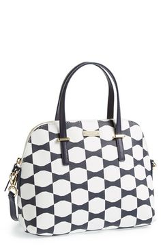 kate spade new york 'maise bow tile' satchel