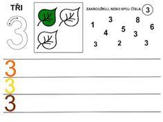 Pro Šíšu: Čísla - pracovní listy Kids Learning Activities, Math Equations, School Ideas, Architecture, Infant Learning Activities, Numbers Preschool, Note Cards, Arquitetura, Architecture Design