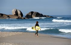 Sunbathe, surf, or chill on the 40 beaches around the island of Florianópolis, like here in Praia Mole >> http://www.momondo.com/inspiration/best-solo-travel-destinations/