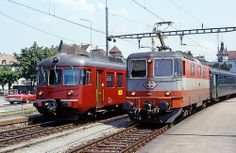 SBB Re4/4'' 11106 Electric Locomotive, Diesel Locomotive, Third Rail, Railroad Pictures, Swiss Railways, Train Art, Electric Train, Light Rail, Model Trains