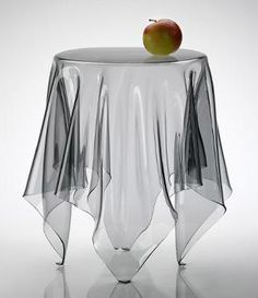 Great ESSEY Illusion Side Table :: Illusion Is A Handmade Side Table Of 3 Mm  Acrylic
