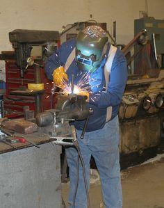 Blacksmith Devin Thomas.
