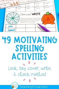 Spelling Quizzes, 3rd Grade Spelling Words, Spelling Word Activities, Spelling Help, Spelling Centers, Spelling And Handwriting, Teaching Sight Words, Spelling Lists, Spelling And Grammar