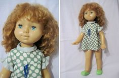 Кукла с волосами, 60 см, оригинал, шагает, вес 1155 г. Донецк, СССР, дата на пищике. Редкая!