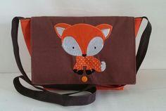 Kindertasche 'Fuchs' von HandArt by Nina auf DaWanda.com