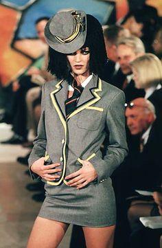 Kate Moss, John Galliano F/W 1997