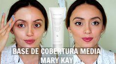 Reseña y prueba de la base de cobertura media de Mary Kay | #MartesMaryKay