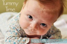 Chronicles of a Babywise Mom: Tummy Time