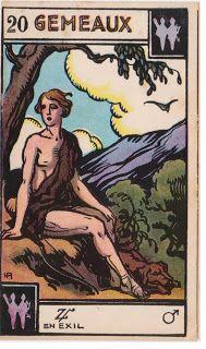 Cartas do Destino: Destino e Tarô: Tarot Astrologique - A Carta 3º De...