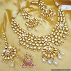 Gorgeous Kundan Meenakari Bridal Necklace