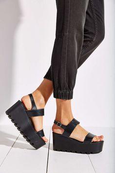 I want these soooooooo bad!!!!!! Sixtyseven Amber Platform Sandal