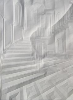 Artist Folds Creases On Paper To Form Architectural 'Drawings'