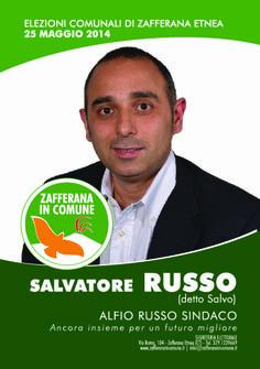 I nostri Candidati: SalvatoreRusso #ZafferanainComune #AlfioRussoSindaco