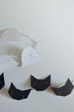diy cat and ghost lights