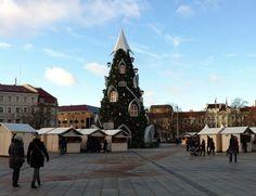 Visiting Vilnius, Lithuania during the Christmas season