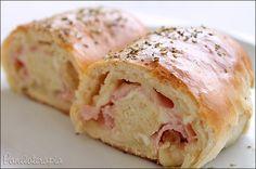 PANELATERAPIA - Blog de Culinária, Gastronomia e Receitas: Pãozinho Salgado Recheado