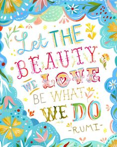 Love What You Do 8x10 print by thewheatfield on Etsy, $18.00