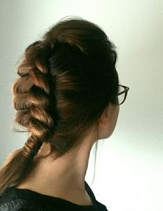 Hairstyle #braid #holländischer #zopf #brown #hair