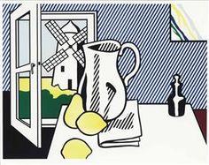 Still Life with Windmill - Roy Lichtenstein