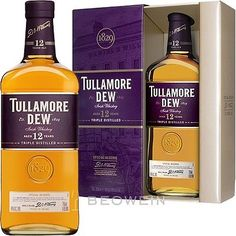 Tullamore Dew 12 Jahre Irish Whiskey 0,7 l Whisky