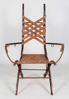 """Organic Baroque Chair"" by Tony Duquette for Baker ..."