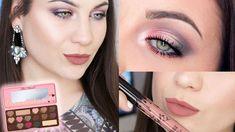 Makeup Talk Thru Makeup Inspo, Beauty Makeup, Eye Makeup, Hair Makeup, Hair Beauty, Too Faced Eyeshadow, Too Faced Makeup, Too Faced Bon Bon, Silver Eyeshadow Looks