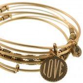 ALEX AND ANI Love Bracelets