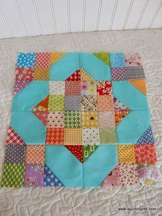 A Quilting Life - a quilt blog: Scrap Quilt Blocks