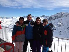 Esquiando - Grandvalira - Diciembre 2014