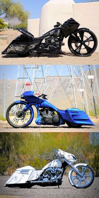 Custom Bagger - Too bad it would have to sit in the garage for half the year.
