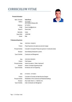 Pin By GaroPlaza On CvS    Cv English Resume Words