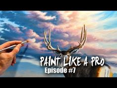 How To Paint Beautiful Clouds | Paint Like A Pro #7