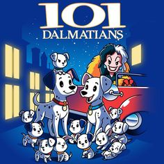 Disney 101 Dalmatians T-Shirt Disney TeeTurtle