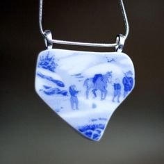 Broken China Necklace - Donkey by Objects and Subjects