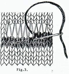 Well, after considerable rummaging I have turned up the directions for the Swiss darning mend mentioned in my last post.  I hope you can...