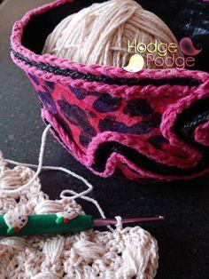 http://hodgepodgecrochet.wordpress.com/ DIY Yarn Bowl
