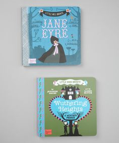Take a look at this Jane Eyre & Wuthering Heights Board Books on zulily today!