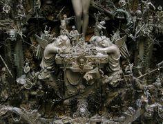 Kris Kuksi art sculptures, plastic arts, visual arts, fine arts, fantastic realism