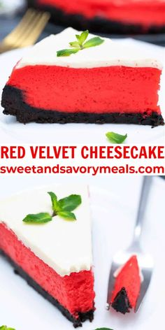 Red Velvet Cheesecake is a rich and silky cream cheese frosted cheesecake baked in a buttery Oreo crust. #valentinesday #valentinesdaydesserts #valentinesdayrecipes #cheesecake #redvelvetcheesecake #sweetandsavorymeals Happy Valentine Day HAPPY VALENTINE DAY | IN.PINTEREST.COM WALLPAPER EDUCRATSWEB