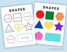 Toddler Learning Activities, Preschool Learning Activities, Book Activities, Fun Learning, Learning Tools, Shape Activities, Shapes For Toddlers, Activity Books For Toddlers, Learning Shapes